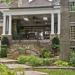 traditional exterior by Castro Design Studio