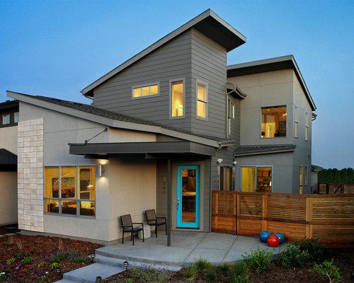 Porch roof houzz for Modern houses denver