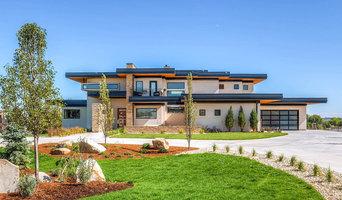 Miesian Modern home with Milgard Ultra windows and doors