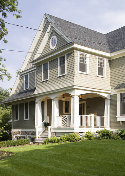 Traditional Exterior by Duckham Architecture & Interiors