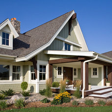 Farmhouse Exterior by Murphy & Co. Design