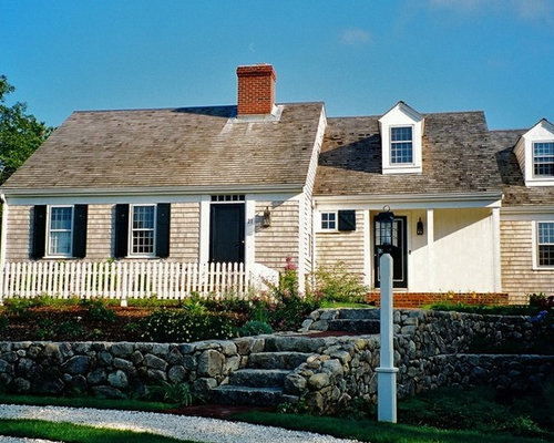 Cape cod dormers houzz for Cape cod dormer addition