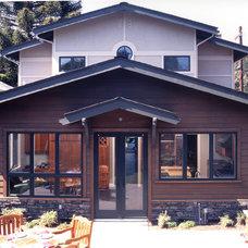 Craftsman Exterior by Mahoney Architects & Interiors