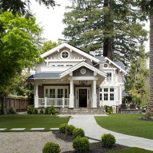 Great Inspiration For A Timeless Gray Two Story Wood Exterior Home Remodel In San  Francisco