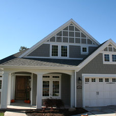 Traditional Exterior by Branca Homes
