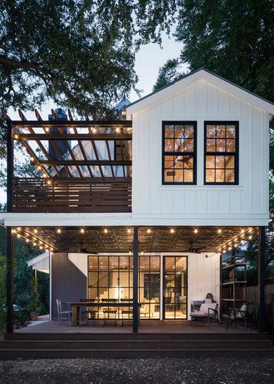 Farmhouse Exterior by Richard Hughes Architect
