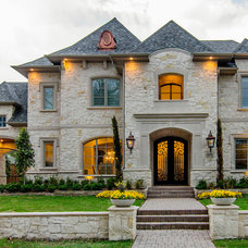 Traditional Exterior by Hayes Signature Homes