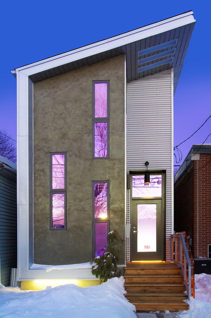 Contemporary Exterior by Arnal Photography