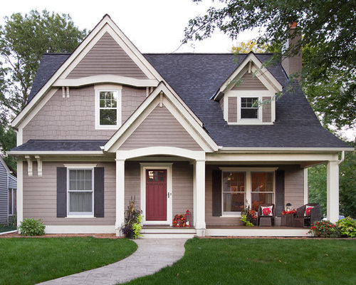 Beige Siding Home Design Ideas Pictures Remodel And Decor