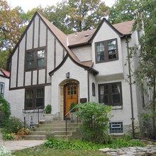 Tudor Stucco Arts and Crafts Home
