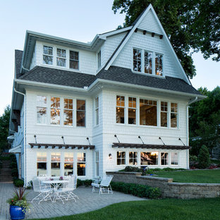 Traditional exterior in Minneapolis.