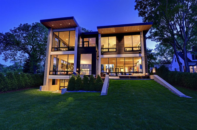 Contemporary Exterior by Turnquist Design