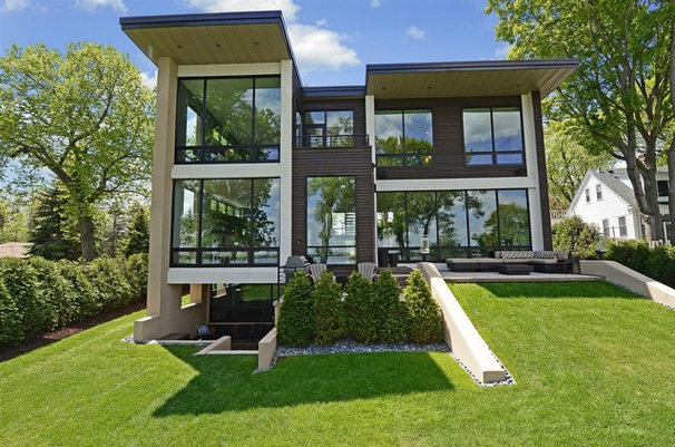 Contemporary Exterior by Turnquist Design