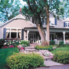 Traditional Exterior by Bruce Knutson Architects