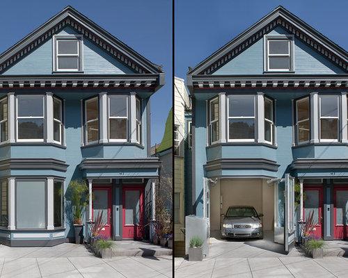Hidden Garage Door Home Design Ideas, Pictures, Remodel ...