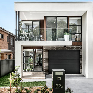 Inspiration for a contemporary exterior in Sydney.