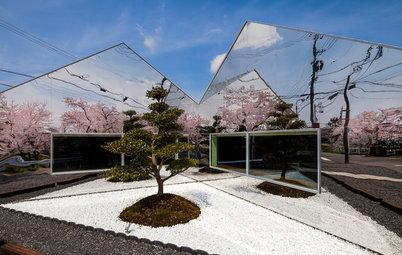 Прогулка на диване: Необычные дома мира с зеркальными фасадами
