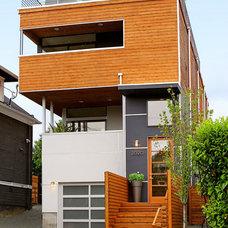 Contemporary Exterior by Folia Horticultural + Design