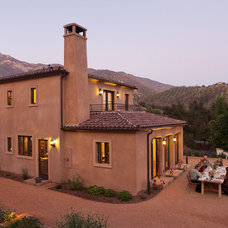 Mediterranean Exterior by Allen Construction