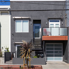 Contemporary Exterior by SF Design Build