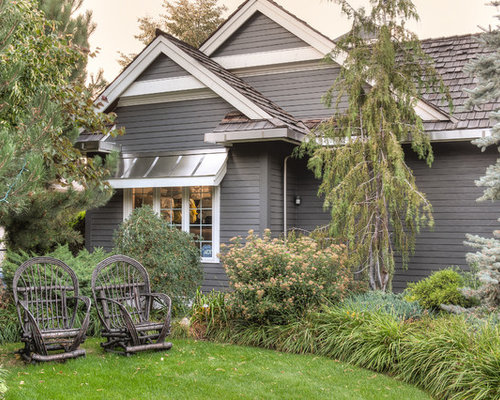 Benjamin moore kendall charcoal houzz for Kendall charcoal exterior paint