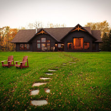 Traditional Exterior by Baratto Brothers Construction