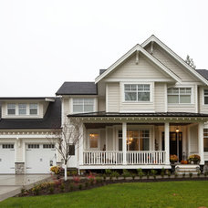 Traditional Exterior by Converge Homes