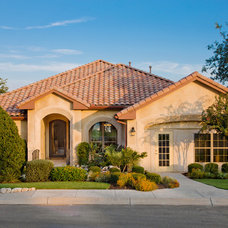 Mediterranean Exterior by Sitterle Homes