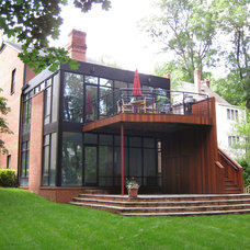 Contemporary Exterior by William L.  Feeney Architect LLC