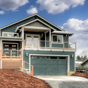 Modern and Craftsman Style Mix - Exterior Front Facade