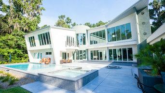 Modern Backyard -