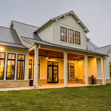 Modern Board and Batton Farmhouse