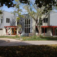 Contemporary Exterior by Coburn Development