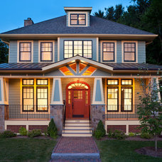 Craftsman Exterior by Beaconstreet Builders, Inc.