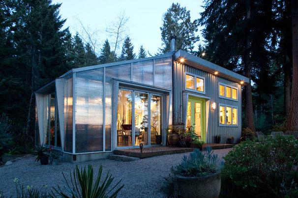 Contemporary Exterior by Sam Van Fleet Photography