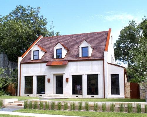 Modern cape cod home design ideas pictures remodel and decor for Cape cod exterior design