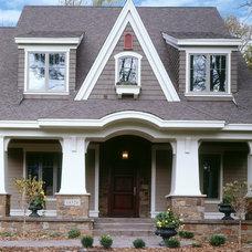 Craftsman Exterior by Hendel Homes