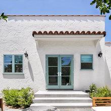 Spanish exterior and patio
