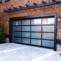 Amazing Modern Classic Aluminum/Glass Garage Door
