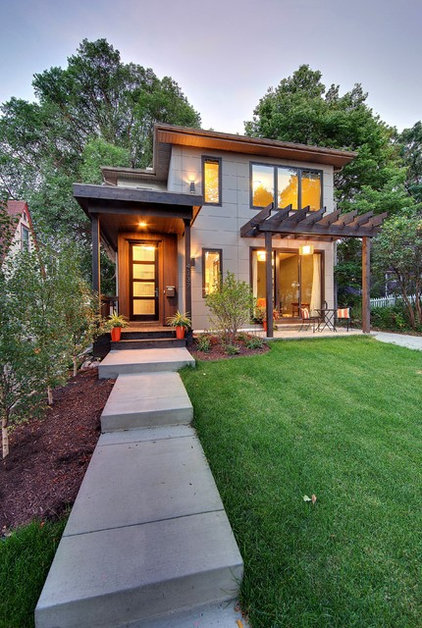 Contemporary Exterior by Passages Custom Homes LLC