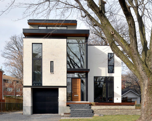 Modern ottawa exterior home design ideas remodels photos for Modern house design ottawa