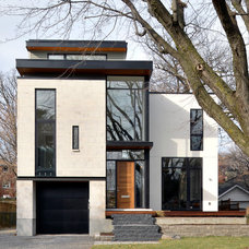 Modern Exterior by Gordon Weima Design Builder