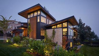 Modern Custom Mercer Island Home