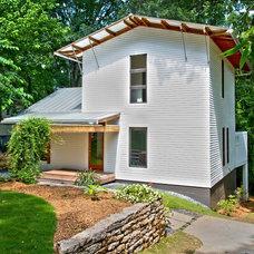 Contemporary Exterior by Falcon Design Build