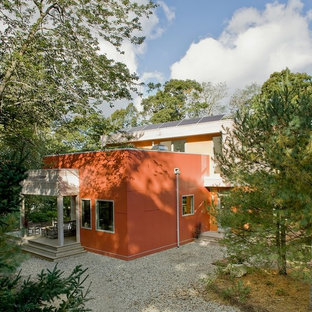 Modern Energy Efficient Home with Roofdeck, Live Roof, and Solar Electric System
