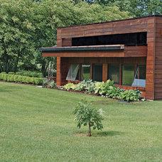 Modern Exterior by Bamesberger Architecture