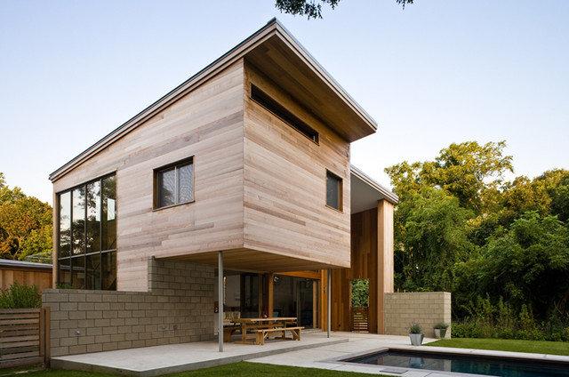 Modern Exterior by John R Berg  AIA  LEED AP