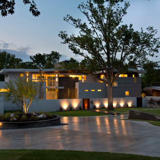 Minimalist exterior home photo in Other