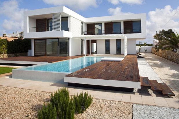 Moderno Fachada Modern Exterior