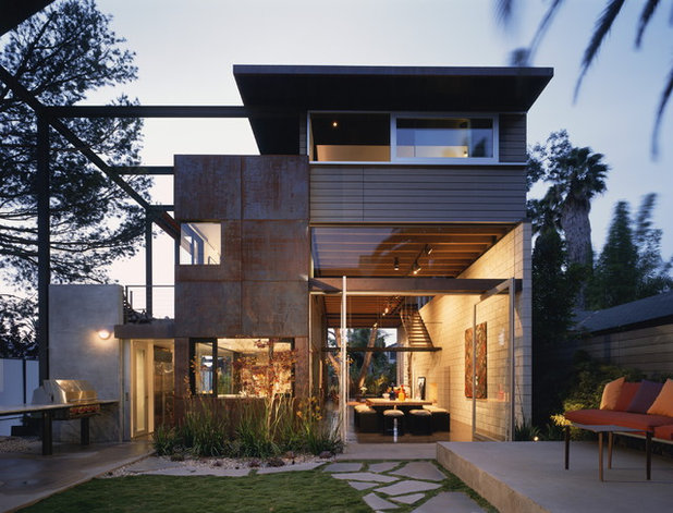 Industrial Exterior by Ehrlich Yanai Rhee Chaney Architects